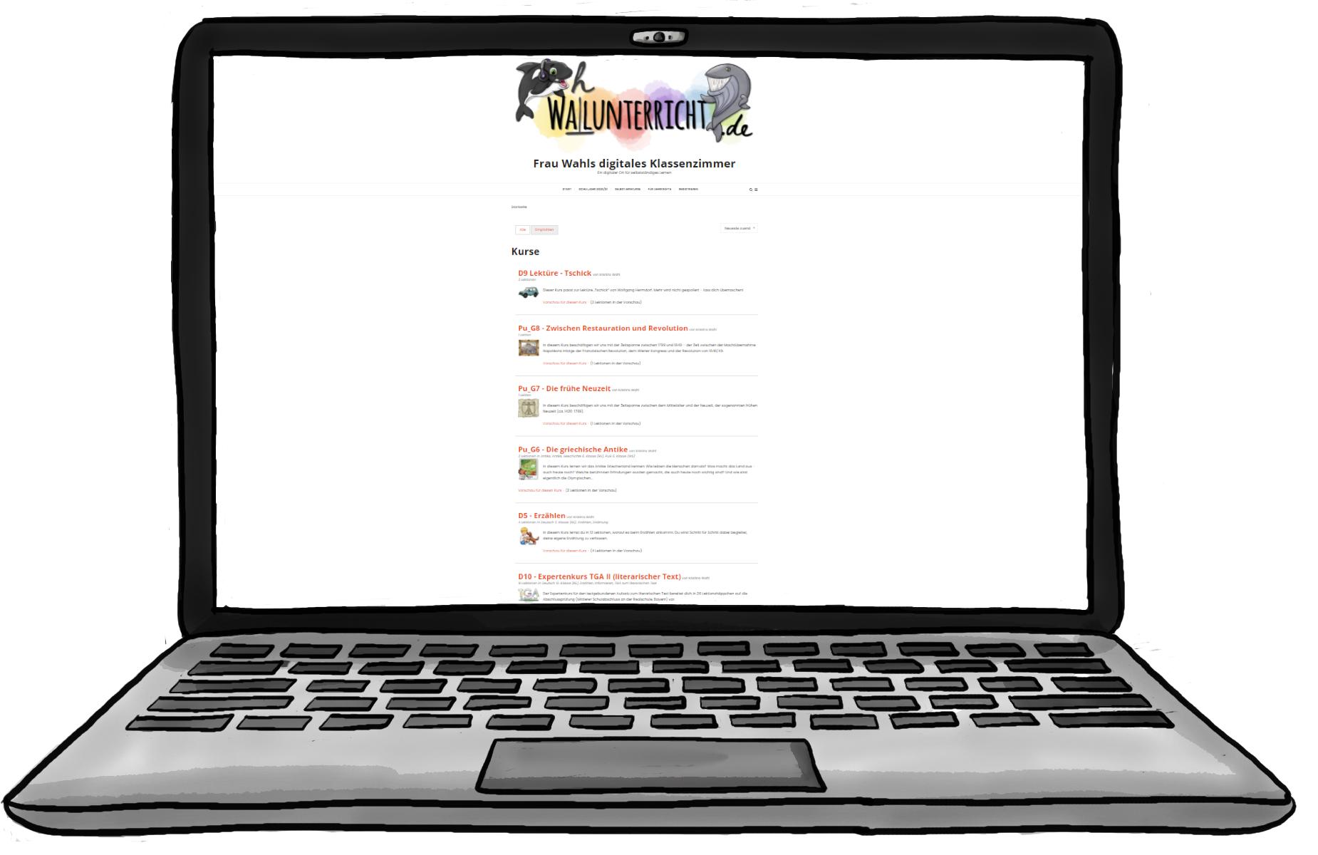 (Distanz)Unterricht mit dem WordPress-Blog